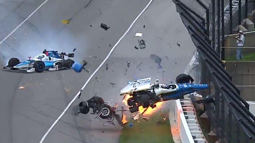 Wypadek w Indianapolis 500