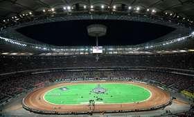 Żużlowe Grand Prix Polski: Skandal na Stadionie Narodowym. Znieważono polską flagę [FOTO]