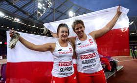 Anita Włodarczyk i Malwina Kopron