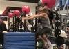 Dafne Schippers na treningu