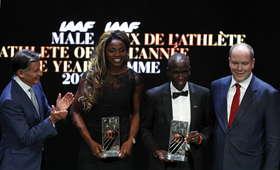 Eliud Kipchoge i Caterine Ibarguen lekkoatletami roku IAAF