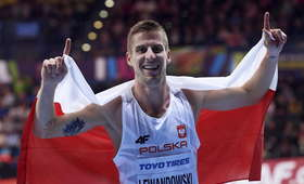 Marcin Lewandowski na Halowych Mistrzostwach Świata