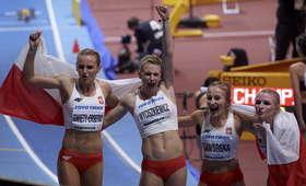 Polska sztafeta 4x400 m kobiet w Birmingham