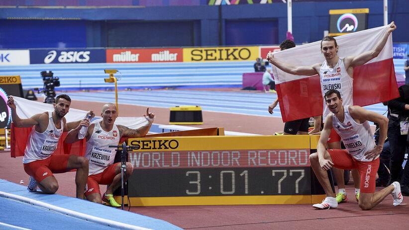 polska sztafeta mężczyzn z rekordem świata