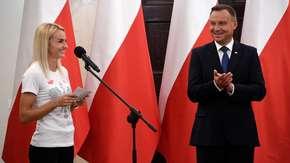 Justyna Święty-Ersetic rzuciła wyzwanie Andrzejowi Dudzie