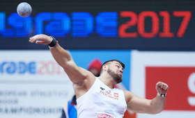 Konrad Bukowiecki pobił rekord Polski w pchnięciu kulą