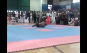Kulturysta skręcił kark podczas salta w tył. Zmarł w szpitalu [WIDEO]