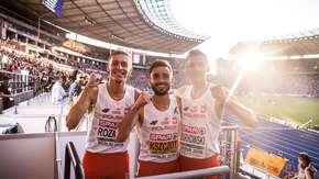 Michal Rozmys, Adam Kszczot, Mateusz Borkowski powalczą o medale na 800 m