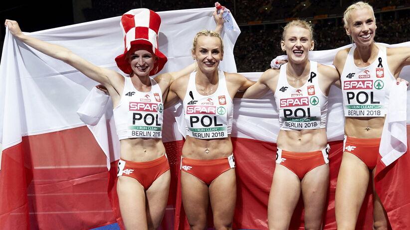 Sztafeta 4x400 m zdobyła złoty medal ME