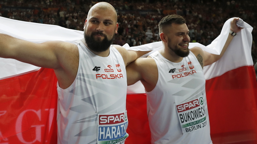 Michał Haratyk i Konrad Bukowiecki