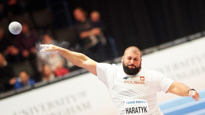 Michał Haratyk pobił rekord Polski w pchnięciu kulą