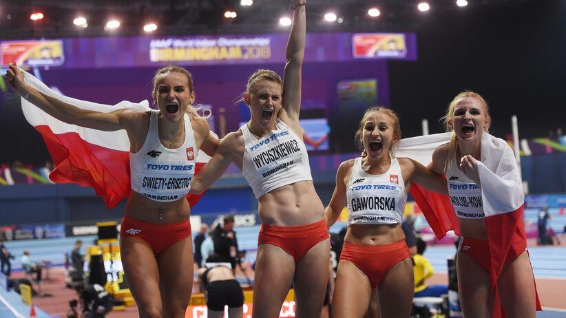 polska sztafeta kobiet na halowych mistrzostwach świata w Birmingham