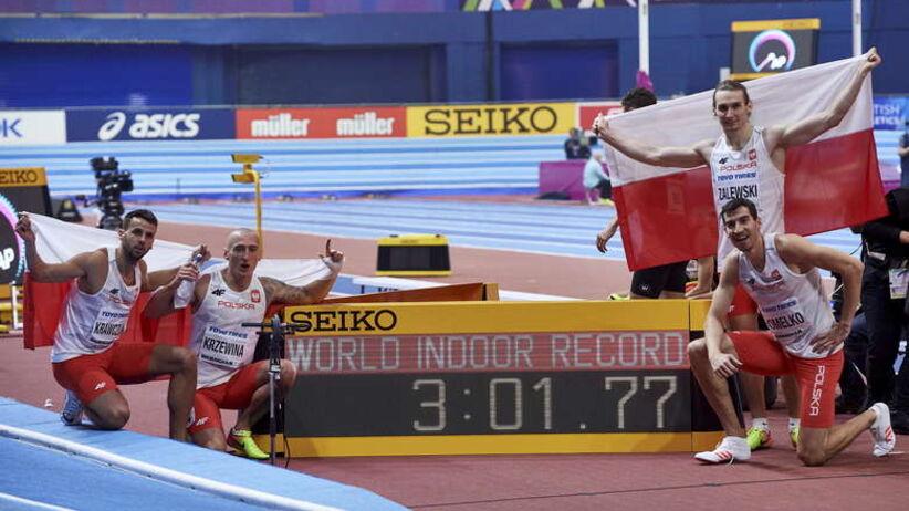polska sztafeta 4x400 m w Birmingham