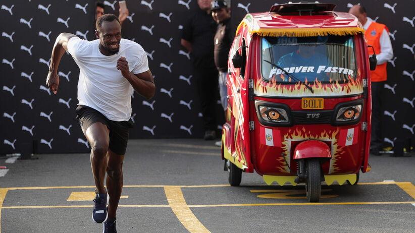 Usain Bolt ścigał się z taksówką
