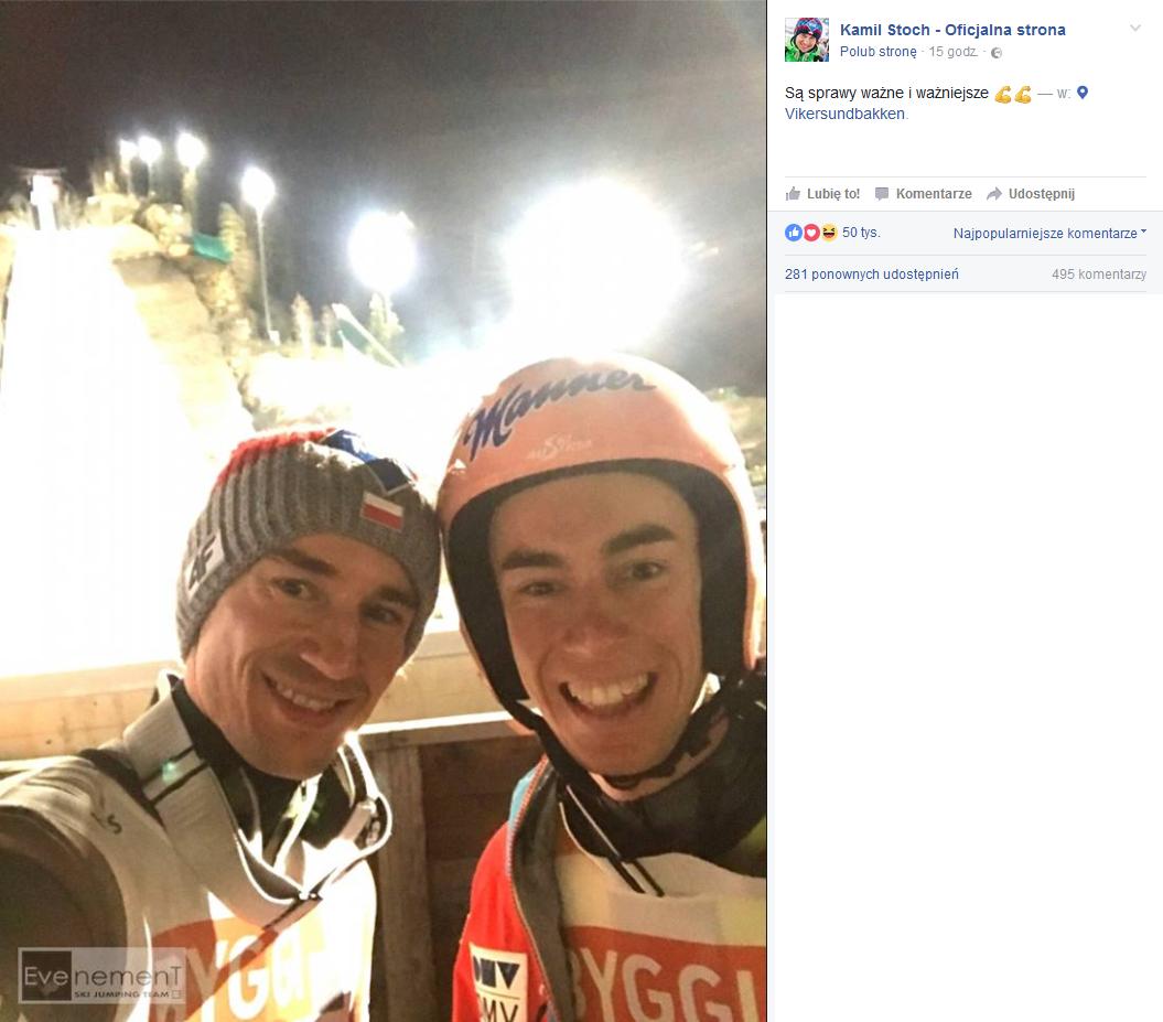 KS selfie fot. Facebook