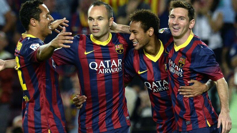 Adriano, Neymar, Iniesta i Mesi