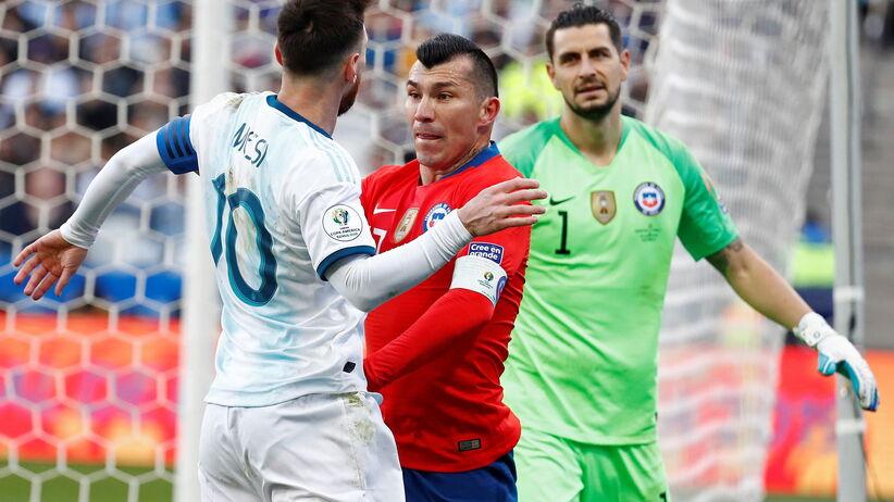 Lionel Messi i Gary Medel