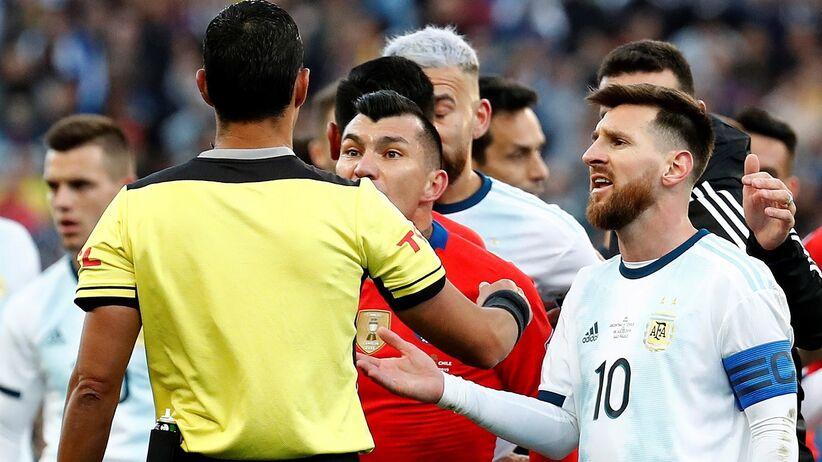Argentyna nie zagra w Lidze Narodów UEFA