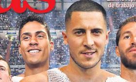 Eden Hazard i Karim Benzema zamienili się