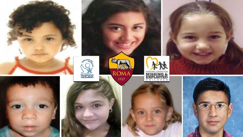 AS Roma pomaga w poszukiwaniach zaginionych dzieci
