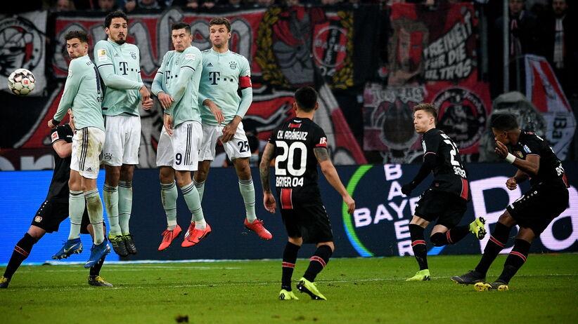 Bayern przegrał z Bayerem