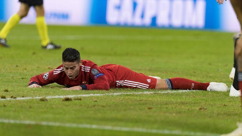 James Rodriguez sfrustrowany po meczu z Ajaxem