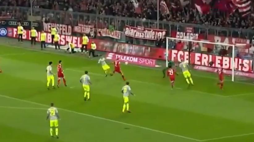 Bundesliga: Gol Lewandowskiego, Bayern skromnie pokonał Koeln [WIDEO]
