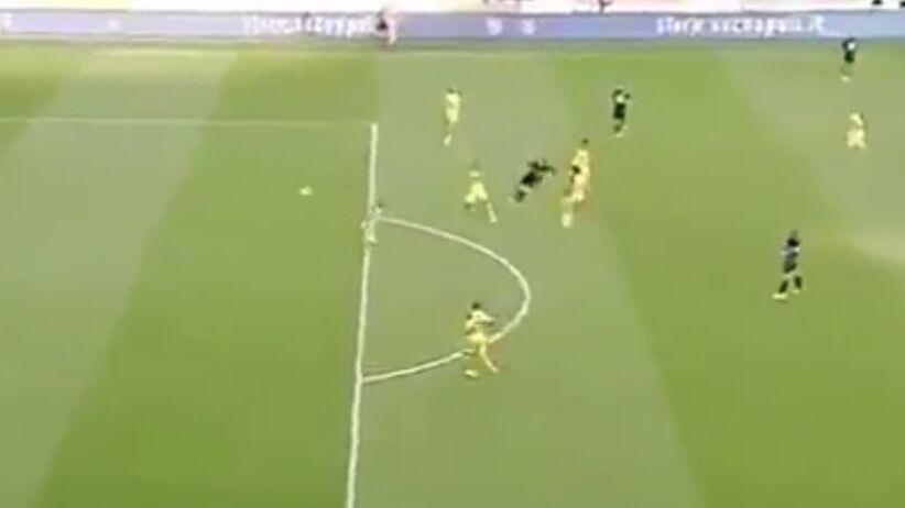 Gol Milika w meczu z BVB
