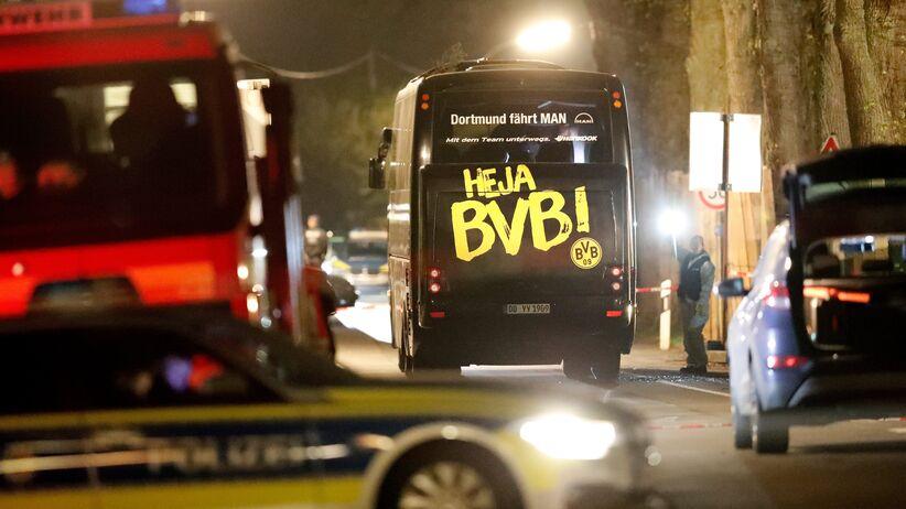 Borussia Dortmund - wybuch