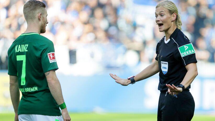 Historyczny mecz w Bundeslidze! Spotkanie poprowadziła... partnerka Howarda Webba