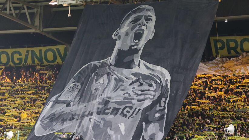 Kibice Nantes pożegnali Emiliano Salę