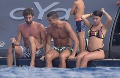Cristiano Ronaldo na wakacjach