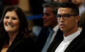 Cristiano Ronaldo z matką Dolores