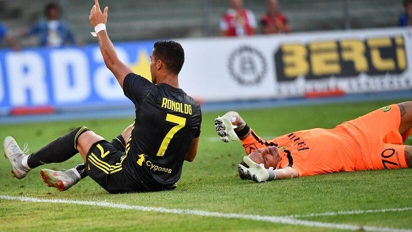Ronaldo przeprosił Sorrentino