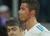 Wstrząsajace sceny na Bernabeu! Cristiano Ronaldo zalany krwią! [WIDEO]