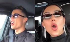Cristiano Ronaldo śpiewa