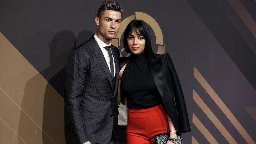 Cristiano Ronaldo zaręczył się z Georginą Rodriguez