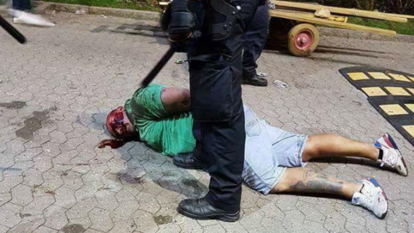 Duńska policja pobiła polskiego kibica! [WIDEO]