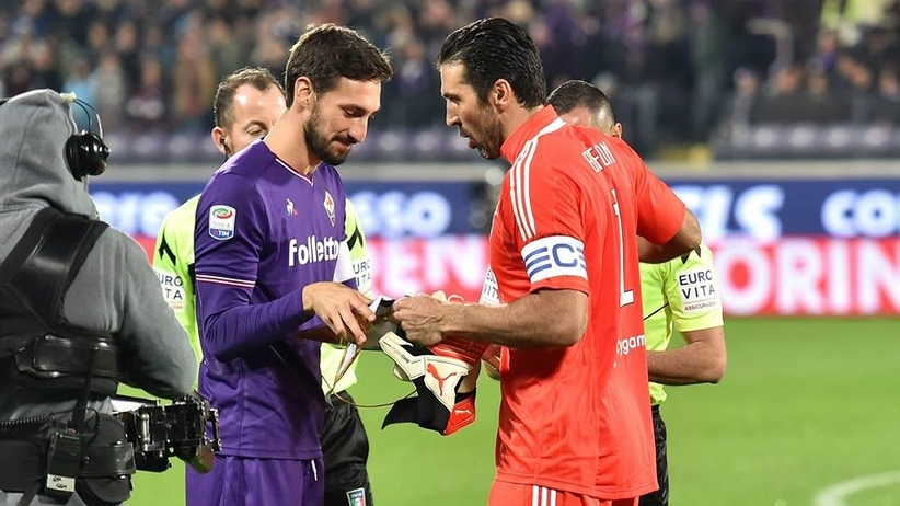 Gianluigi Buffon i Davide Astori