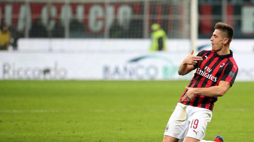 Krzysztof Piątek skomentował mecz Milan - Napoli