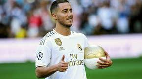 Eden Hazard zaprezentowany jako piłkarz Realu Madryt