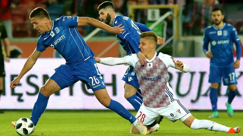 Ekstraklasa: Cztery gole w Zabrzu, Górnik zremisował z Lechem