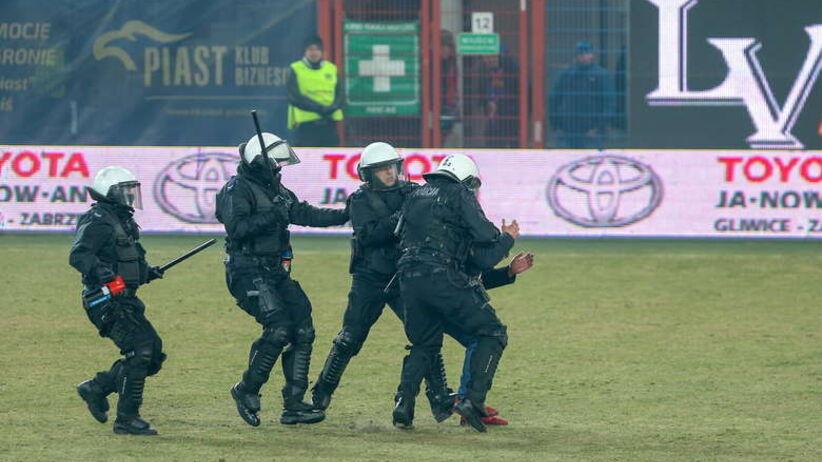 Zamieszki Górnik Zabrze