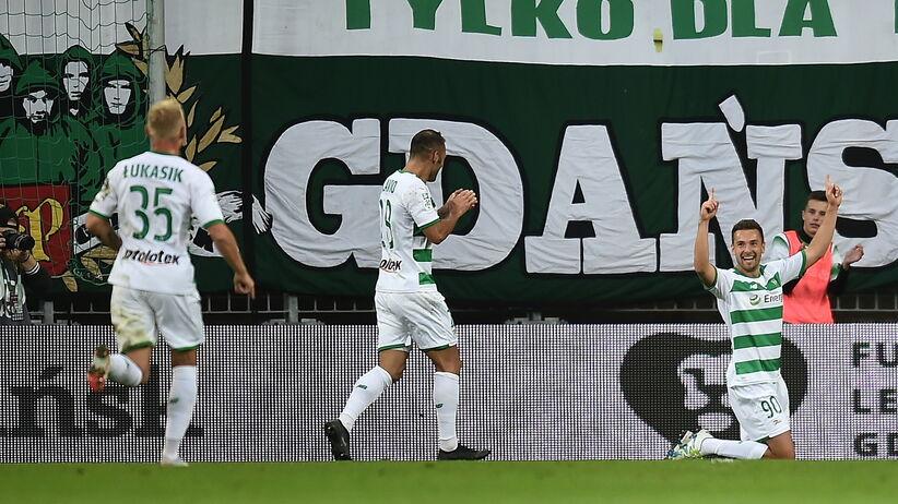 Ekstraklasa: Grad goli i podział punktów w Gdańsku