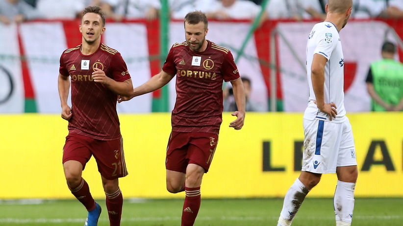 Ekstraklasa: Legia zwycięża w hicie kolejki, skromna wygrana mistrza Polski