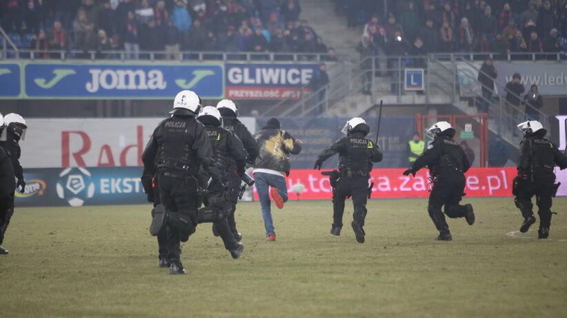 Burdy na meczu Piast - Górnik
