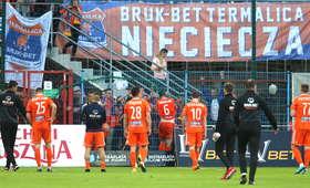 Ekstraklasa: Spadek Bruk-Betu Termaliki Nieciecza