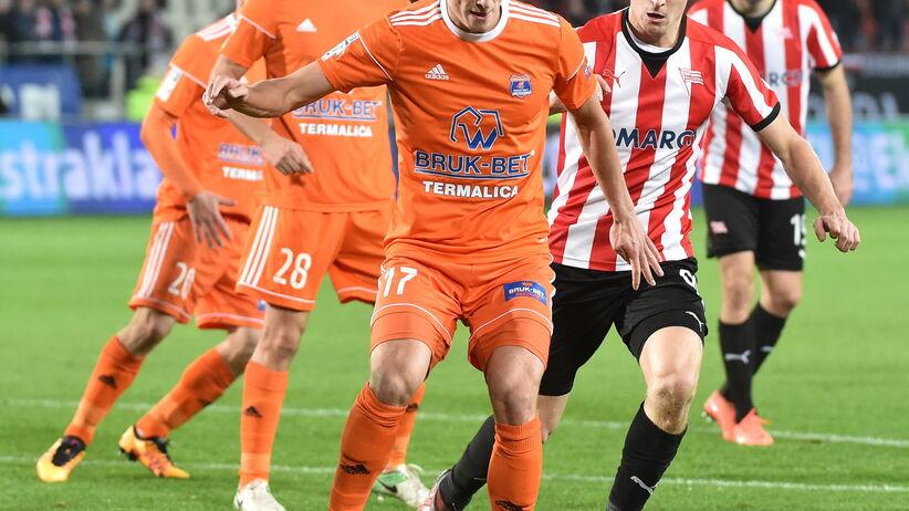 Ekstraklasa: Cracovia straciła trzy punkty w samej końcówce