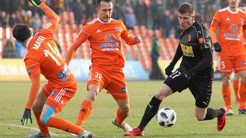 Ekstraklasa: zwycięstwo Korony w Niecieczy