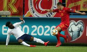 rasistowski skandal na meczu Czarnogóry z Anglią
